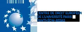 Logo du Centre de droit européen